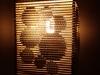 Lampa z kartonu - kolka 3d - 6