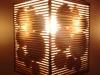 Lampa z kartonu - kolka 3d - 9