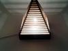 Lampa piramida z tektury - 6.jpg