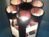 lampa-z-rolek-5 - lampa z kartonu