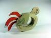 papuga-1 - z tektury, z kartonu