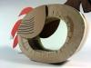 papuga-9 - z tektury, z kartonu