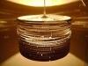 beczka-2-7 - lampa z kartonu, cardbord lamp