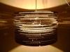 beczka-2-9 - lampa z kartonu, cardbord lamp