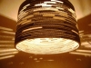 beczka-3-lampa-z-dziurami-10 - lampa z kartonu, cardbord lamp