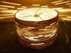beczka-3-lampa-z-dziurami-2 - lampa z kartonu, cardbord lamp