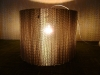 jajko-2 - lampa z kartonu, cardbord lamp