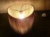 jajko-4 - lampa z kartonu, cardbord lamp