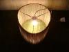 jajko-5 - lampa z kartonu, cardbord lamp