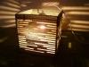 luka-1 - lampa z kartonu, cardbord lamp