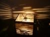 luka-3 - lampa z kartonu, cardbord lamp