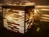 luka-5 - lampa z kartonu, cardbord lamp
