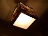 luka-7 - lampa z kartonu, cardbord lamp