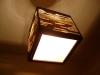 luka-8 - lampa z kartonu, cardbord lamp