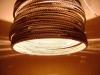 beczka-4-lampa-nie-w-osi-11 - lampa z kartonu, cardbord lamp