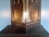 Lampa sowa 3d - stojaca - 1