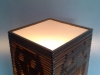 Lampa sowa 3d - stojaca - 3
